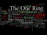 Wordle: Lord of the Rings Characters